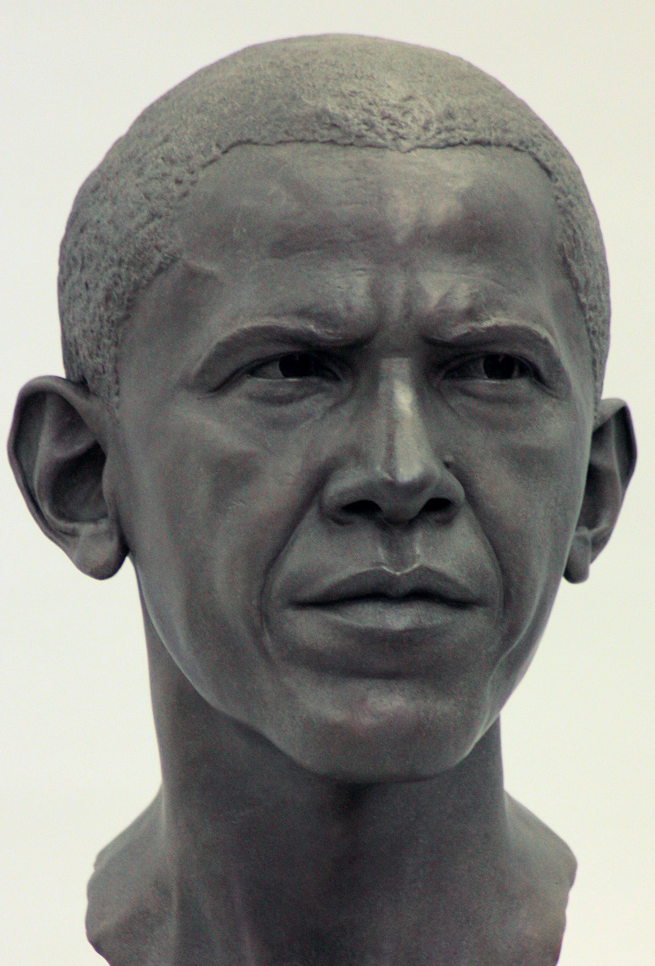 Portrait sculptor Barack Obama