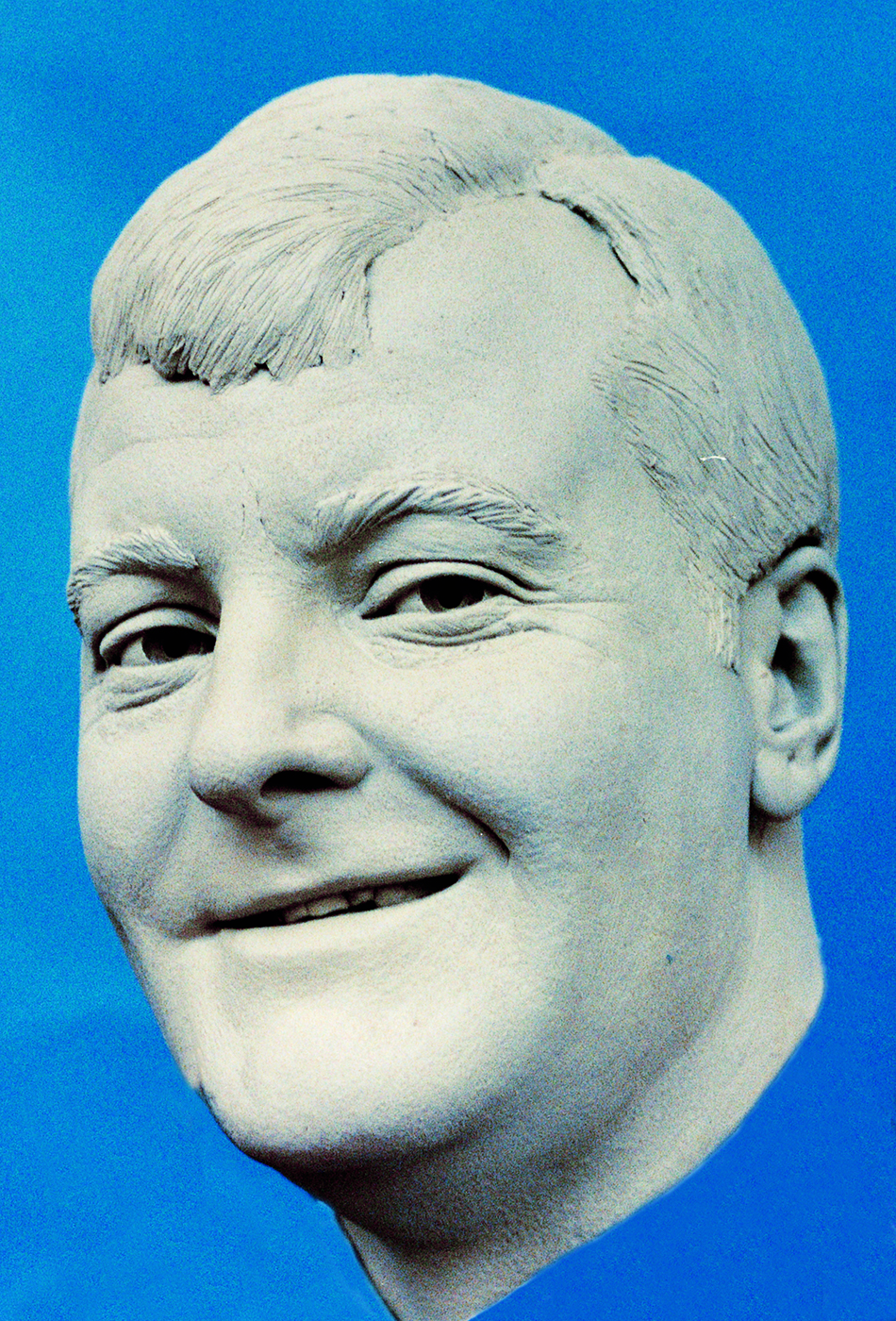 Portrait sculptor Charles Kennedy