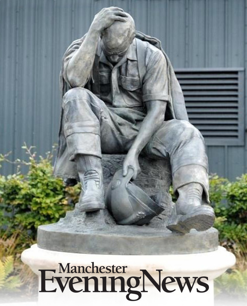 Bronze memorial of fallen firefighters unveiled