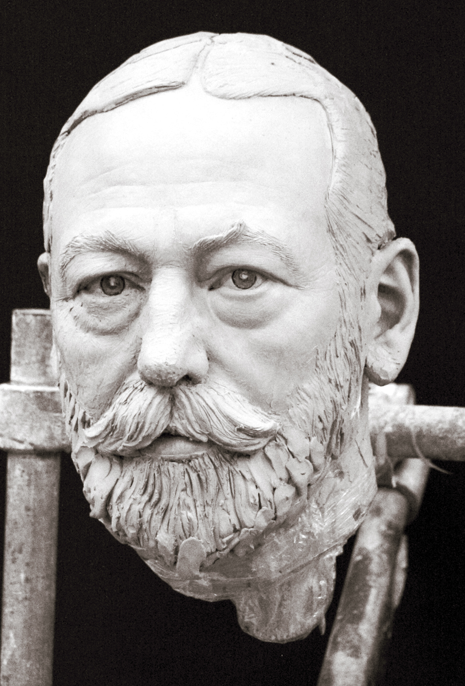 Portrait sculptor King George V