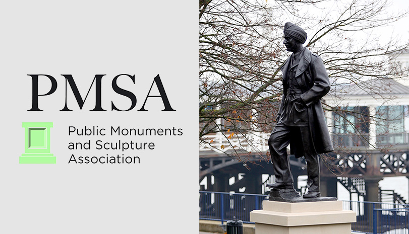 Douglas Jennings wins the PMSA's Marsh Award for Excellence in Public Sculpture
