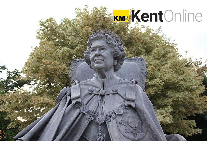 Statue of Her Majesty Queen Elizabeth II unveiled in Gravesend