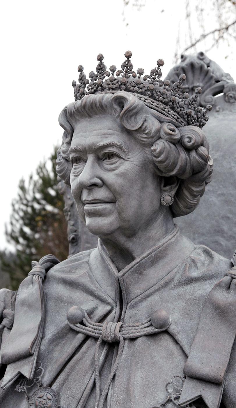 Majesty Queen Elizabeth II